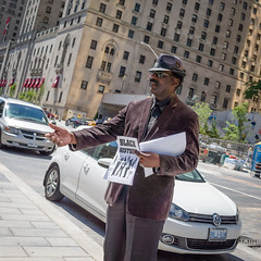 The Streets of Toronto II (phil.w) Tags: street york toronto canada man black history station square hand union royal streetphotography front cropped gr ricoh compact dapper outstretched asking