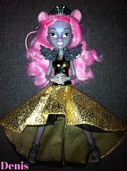 Monster high (boo york) (mon monde a moi il n'y aurait que des divagations) Tags: york pink cute fashion monster hair high glamour rat doll king style boo mattel princesse monsterhigh mousceclesking