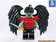 HARPY (baronsat) Tags: ancient lego mythology harpy combo minifigure brickwarrior
