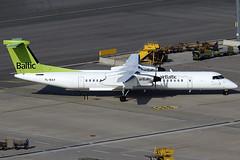 Air Baltic Bombardier Q400 YL-BAY (c/n 4331) (Manfred Saitz) Tags: vienna austria airport air 8 baltic dash vie bombardier schwechat q400 loww dhc8 dh84 dh8d ylbay ylreg