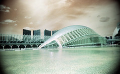 City of Arts and Sciences (pho-Tony) Tags: camera city film valencia rollei 35mm point shoot turquoise wide arts panoramic ishootfilm automatic prego r1 24mm ricoh sciences compact micron 30mm c41 cityofartsandsciences ricohr1 filmisnotdead tetenal rolleipregomicron lomochrome lomochrometurquoise