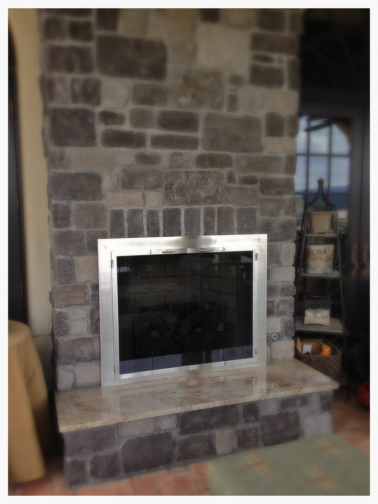 Custom Fireplace Glass Doors, Chattanooga, Tn