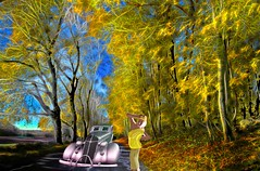 Taking in the Yellow Fall Scenery (Rusty Russ) Tags: yellow road car tree autumn girl photoshop flickr google bing daum yahoo image stumbleupon facebook getty national geographic magazine creative creativity montage composite manipulation color hue saturation flickrhivemind pinterest reddit flickriver pixelpeeper blog openuniversity flic twitter alpilo commons wiki wikimedia worldskills oceannetworks ilri comflight newsroom fiveprime photoscape winners all people young photographers paysage artistic photo pin stockpainterly paint brush painttexture tumblr style outside digital picture newburyport north shore cape ann