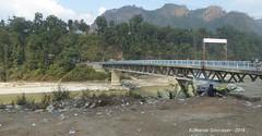 P1110059 Passing the Dhading Bridge .... that I took on way to Manaslu-Tsum Trek in 2014 (ks_bluechip) Tags: nepal trel dec2016 annapurna mohare khopra muldhai abc mbc pokhara kathmandu