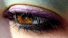 picture of a lie (emocjonalna) Tags: eye iris macro makeup human colours colors reflections reflection emotive disappointed lied lie