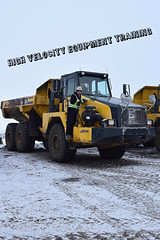 Philip J (High Velocity Equipment Training) Tags: hvet highvelocityequipmenttraining camrose equipment heavyequipment heavyequipmentoperators operators equipmentoperator safety outdoor rocktruck articulated art articulatedrocktruck dumptruck komatsu snow smsequipment heavymachinery reflective