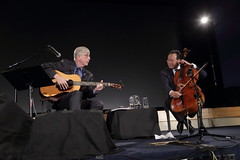 Yo-Yo Ma at NIH (National Institutes of Health (NIH)) Tags: nihimagegallery yoyoma nihdirector franciscollins duet cello cellist