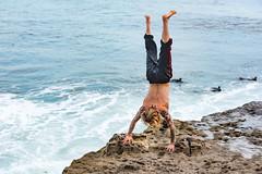 ArchitectGJA-9479.jpg (ArchitectGJA) Tags: lighthousepoint surfing californiababy wetsuit oneill jamessclar xcel lighthousefield california beach marineanimals coast cliffs streetphotography waves surfingsteamerlane santacruz steamerlane montereybay