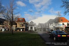 Alkmaar, Scharlo 1923-2017 (Regionaal Archief Alkmaar) Tags: alkmaar timewarp toenennu rephotography thenandnow bergerweg scharlo stationsweg