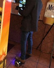 Used a hover board for a makeshift rolling camera system today #nwgallery #elrancherito #lacasa #cinematographyismuchdifferentthanportraitphotography (NWgallerybyNickWheeler) Tags: nw gallery portraits once upon lifetime photography nick wheeler