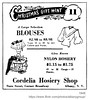 1948 cordelia hosiery shop (albany group archive) Tags: albany ny 1948 cordelia hosiery shop blouses women apparel broadway state