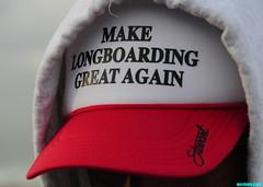 LongboardingGreat (mcshots) Tags: usa california socal losangelescounty coast cap hat longboarding surfer beach apparel humor stock mcshots