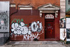 KS and Cajun (mike ion) Tags: nyc newyork newyorkcity graffiti throw fill ks cajun btm flickrexplore kser