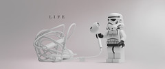 life (Young's Lego) Tags: lego legography photo photography starwars stormtrooper life