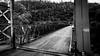 Yankee Jim's Bridge (BigOlFuzzyFella) Tags: bridge blackwhite 16x9