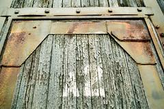 A2 (Georgie_grrl) Tags: wychwoodartbarns autumn wandering stclairwestarea pentaxk1000 rikenon12828mm toronto ontario door a2 crustification texture peeling paint worn rust