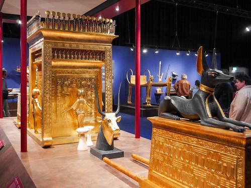 Tutanchamun Ausstellung in Graz