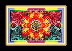 Central Adaption (mfuata) Tags: central adaption merkez uyum simetrik symmetry flower pattern figure çiçek figür