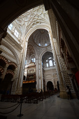 Interior of Mezquita - Cordoba Vlll (rschnaible) Tags: cordoba spain espana europe interior indoor mezquita catedral de history historic sightseeing tour touris church building architecture