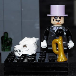 Penguin has never been shy about 'blowing his own horn'.