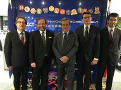 delegazione dell'intergruppo parlamentare di amicizia Italia-Taiwan