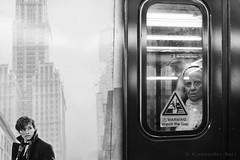 New York (ale neri) Tags: metro subway street bw aleneri newyork nyc ny people alessandroneri streetphotography blackandwhite