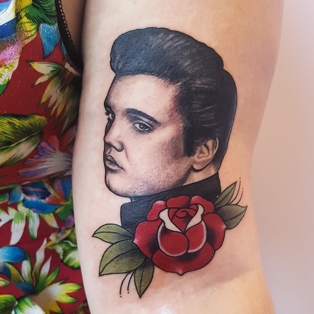 The World's Best Photos Of Elvis And Tattoos