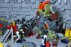 """D.Battle Suit - """"Ground Suit"""" (Devid VII) Tags: dbattle suit groundsuit mecha mech lego moc devid vii devidvii military"""