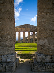 Segesta-11 (aramshelton) Tags: sicily greek greektemple ancient goldenhour