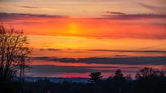 Sunset Little sandhurst 17 February 2017 (14) (BaggieWeave) Tags: berkshire sandhurst littlesandhurst sunset atmospheric clouds