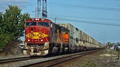 BNSF 207 ~ Auburn (Chris City) Tags: train railway railroad mainline bnsf santafe auburn washington