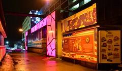 Munich - Mellow Yellow (cnmark) Tags: germany deutschland bayern bavaria munich münchen werksviertel reiberdatschiweg willenlos music dance club disco pfanni space burgers nacht nachtaufnahme noche nuit notte noite gelb yellow ©allrightsreserved