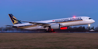 9V-SMD - Early Morning Touchdown