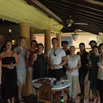 Gruppenbild mit den Kollegen vom Four Seasons Jimbaran