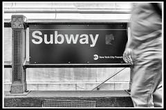 I prefer to walk (Mirko Daniele Comparetti) Tags: nyc newyorkcity blackandwhite usa newyork station subway geotagged unitedstates metro transport bn wallstreet stazione biancoenero trasporti usaeast nyc2014 geo:lat=4070417333 geo:lon=7400906333