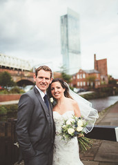 Ali & Laura (Lieutenant Tibs) Tags: wedding 3 tower mike 35mm canon manchester photography groom bride canal couple lock mark iii marriage 5d usm 92 mk dukes castlefield select beetham plunkett f14l vsco
