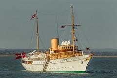 The Danish Royal Yacht Dannebrog (John Ambler) Tags: john marine photographer yacht review royal duke prince photographs maritime danish solent fleet cowes philip rys ambler dannebrog 2015 bicentenary eninburgh johnambler