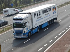 T6 PCH (Cammies Transport Photography) Tags: road park truck hamilton pch lorry carlisle m6 flyover scania t6 r560 t6pch pampc