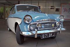 1958 Sunbeam Rapier (Lazenby43) Tags: whitewalls coventry aa rac hillman rootes motofest crossplies 871bkj