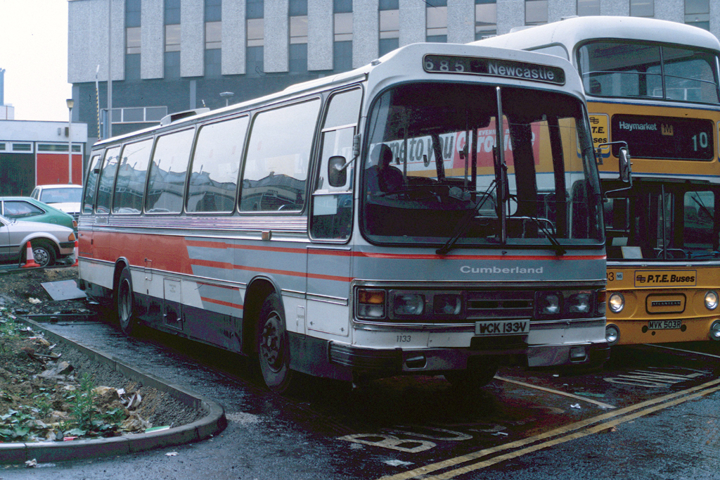 Wck 133v Leyland Leopard Duple 1133 Ofberland Newcastle