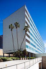 The Stories You Are About to Hear Are True (archipx) Tags: california architecture canon losangeles downtown exterior modernism 5d dtla midcenturymodern lapd weltonbecket canoneos5d parkercenter canontse24mmf35lii