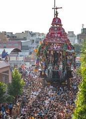 Ther (Padmanabhan Rangarajan) Tags: ngc chennai chariot 70200mm ther parthasarathytemple nikond750