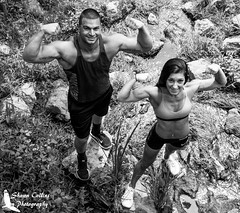Photo Shoot Tony and Krista (Shawn Collins Photography) Tags: portrait dedication canon outdoors photography photo model photoshoot modeling muscle extreme bodybuilding fitness abs photosession built weightlifter portraitphotography fitnessmodel
