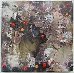 """""""Muddy Waters 10"""" by Daniel Kerkhoff, 2015 (Daniel Kerkhoff) Tags: ink painting artist acrylic quiet daniel vietnam ugly waters hanoi muddy the kerkhoff"""