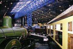 York, Yorkshire, England (1999) (MDHInHouston) Tags: york uk england train yorkshire transport 1999