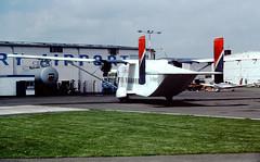 G-RNMO Short 330 Gill Air CVT 20-05-87 (cvtperson) Tags: airport air short coventry gill cvt egbe grnmo 330100