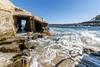 Grotto (dVaffection) Tags: california grotto la jolla cave clams ocean 14mm
