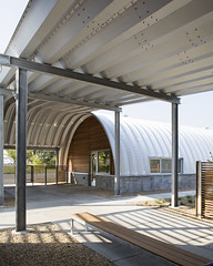 Custom Steel Quonset Offices