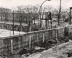 Berlin, Germany, Berlin Wall, Guard Tower, DDR, Treptower Strasse, Street (photolibrarian) Tags: berlingermany berlinwall guardtower ddr street treptowerstrasse
