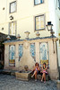 Sintra (Peter Gutierrez) Tags: photo europe european eu euro iberia iberian portugal portuguese pt foto europa europeu ibérico português libon lisboa sintra urban building construção urbana unesco world heritage old medieval city town center centre street culture architectural ceramic tile tiles fountain monuments peter gutierrez petergutierrez film